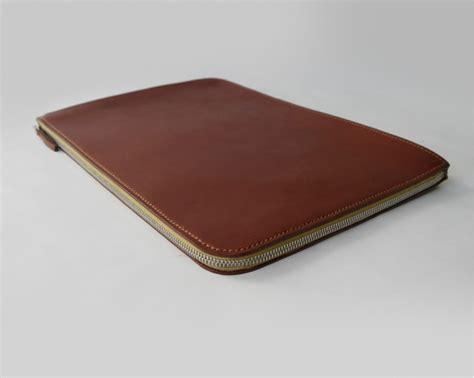 Handmade Laptop Sleeve - macbook air sleeve handmade bridle leather