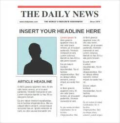 newspaper template for word mybissim