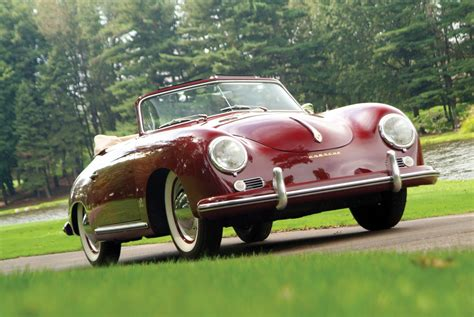 porsche 356 cabriolet 1955 porsche 356 continental the grand dame of