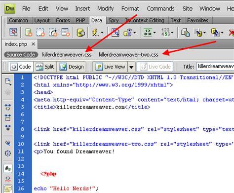 dreamweaver tutorial javascript dreamweaver cs4 dreamweaver cs4 code navigator and code