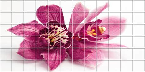 Flower Wall Stickers Uk wallstickers folies flower tiles wall stickers