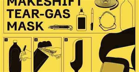 merakit masker anti gas air mata dari botol air mineral peduli fakta