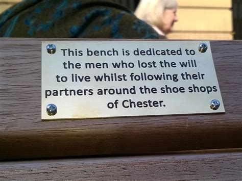 park bench plaques chester council remove funny park bench plaques protesting