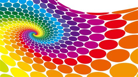 colour design colorful vector circle wallpaper 7269 1920 x 1080