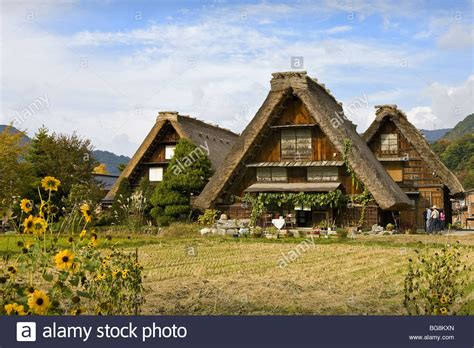 buy house japan traditional japanese houses built in the style called quot gassho zukuri stock photo