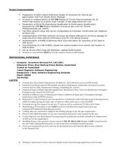 Sap Pm Consultant Sle Resume by Sambit Resume Sap Pm Pp Consultant