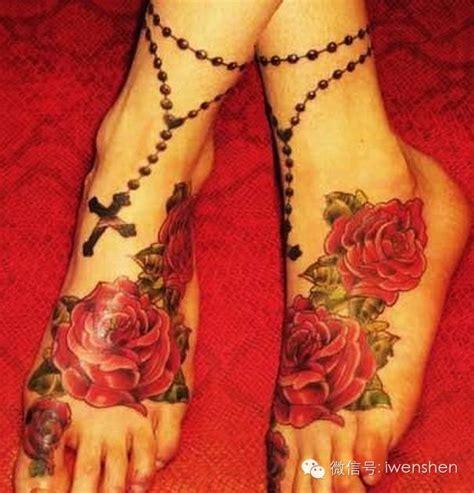 rosary tattoo on foot 65 best rosary foot tattoos