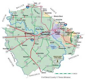 fort bend county map fort bend county the handbook of