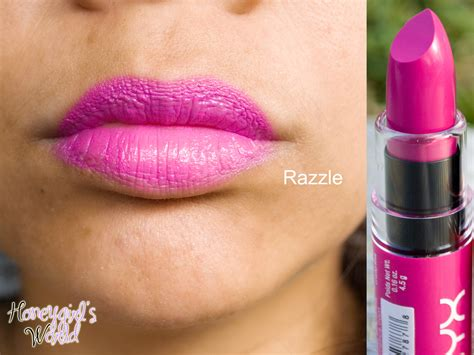 Nyx Butter Lipstik Razzel product reveal review swatches photos nyx butter lipsticks honeygirl s world lifestyle