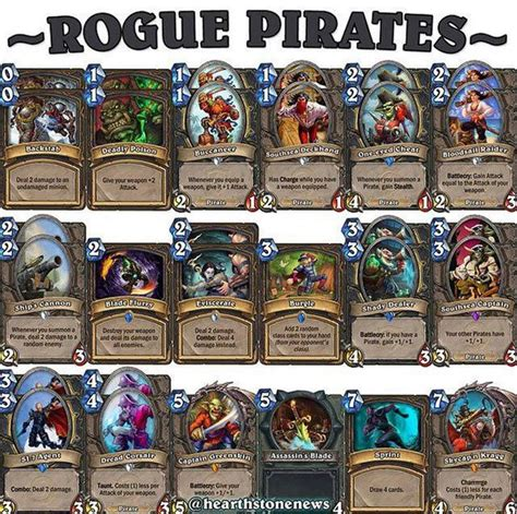 rogue deck hearthstone the 25 best hearthstone rogue ideas on