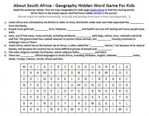 africa worksheets pichaglobal