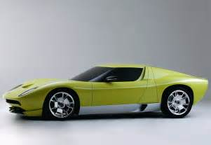 Lamborghini Miura Concept For Sale 2006 Lamborghini Miura Concept Specifications Photo