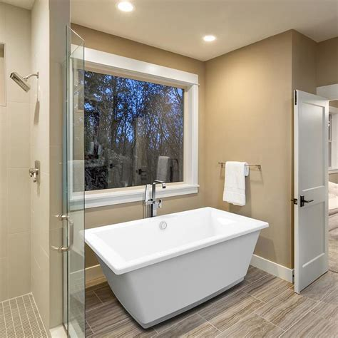 lowes bathtub shop jacuzzi fia 62 in white acrylic bathtub with center