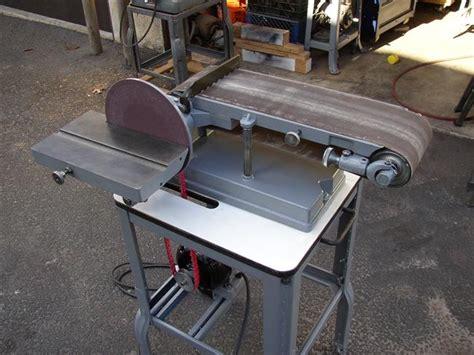 craftsman bench sander photo index sears craftsman 103 22350 disc belt sander vintagemachinery org