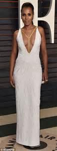 Kerry Washington Vanity Fair Oscar 2016 Kerry Washington In Versace 2016 Vanity Fair Oscar