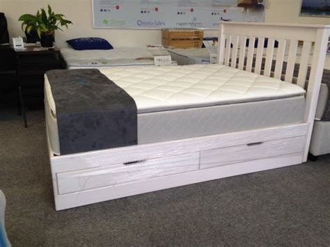 headboard with drawers sale pine box bed with drawers and headboard on sale from r4899