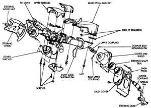 91 chevy truck tilt steering column diagram auto parts