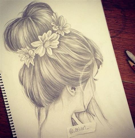 tumblr girl hair drawing the 25 best girl drawings ideas on pinterest pretty