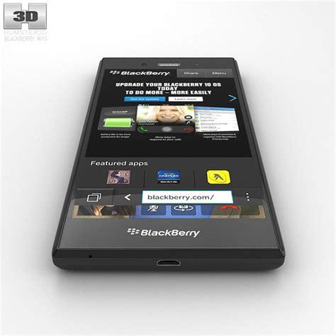 format video blackberry z3 blackberry z3 black 3d model humster3d