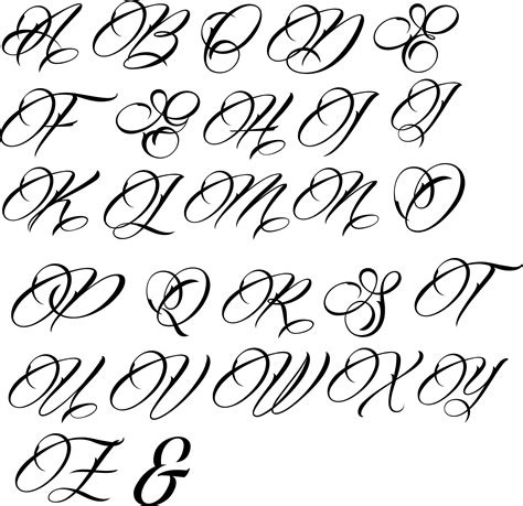 tattoo fonts kunal large letters fancy font fonts large letters