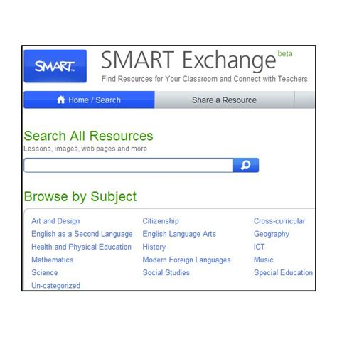 How To Find Smart How To Find Free Smart Board Resources On The Smart Exchange Website