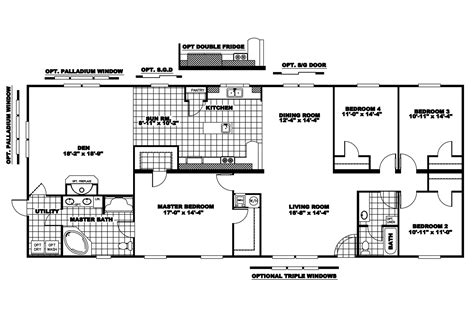 mobile home floor double wide log mobile homeclayton mobile home floor plans