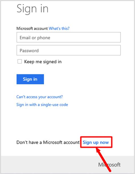 how to create microsoft account microsoft sign up www create windows 10 microsoft account and local account with