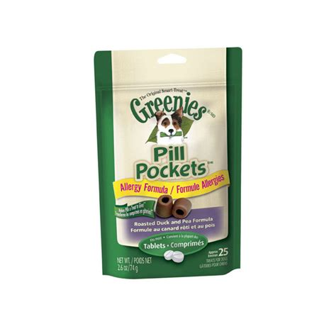 greenies pill pockets for dogs greenies pill pockets duck pea flavor for tablets 25 pk of 6 pet diabetes