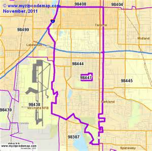 tacoma california map zip code map of 98444 demographic profile residential