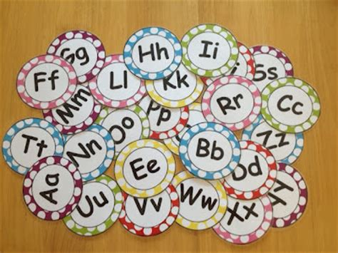 printable alphabet letters for word wall teach with laughter word wall freebie