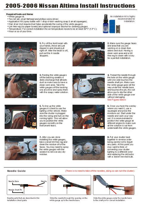 online service manuals 1989 mitsubishi l300 instrument cluster service manual instruction for a 1994 nissan altima instrument cluster how to open 02 nissan