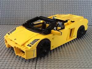 How To Make A Lego Lamborghini Lego Lamborghini Gallardo Lp 560 Set 8169