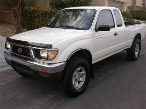 1996 Toyota Tacoma Manual Sell Used 1996 Toyota Tacoma Dlx Extended Cab 2
