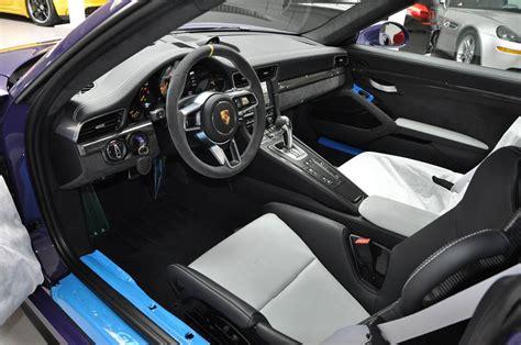 Porsche Gt3 Rs Interior by Gallery Ultraviolet Porsche 991 Gt3 Rs
