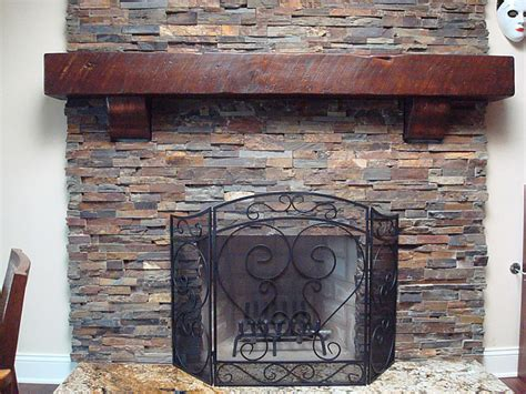 fireplace mantels and surrounds rustic fireplace