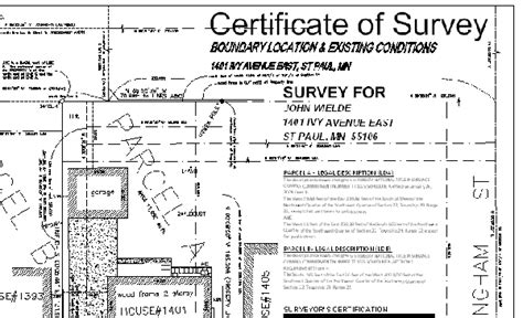 house survey page title