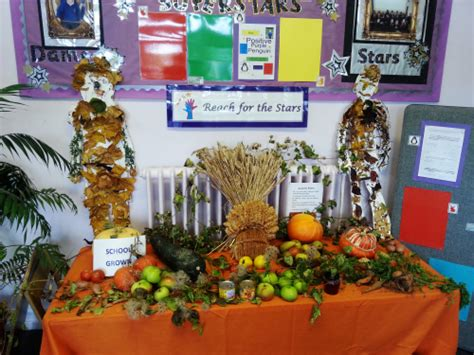 festive decoration services harvest festival bread cakes and ale