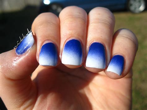 Blue And White Nail easter blue and white nik nails