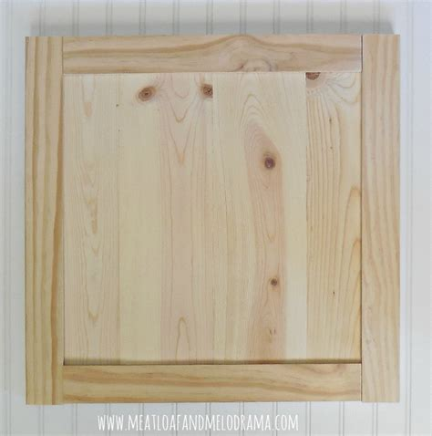 pine kitchen cabinet doors meatloaf and melodrama how we built our kitchen cabinet doors