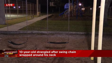 swing sets jacksonville fl jacksonville police 10 year old on park swing set dies in