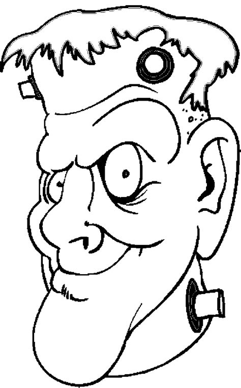 free frankenstein coloring pages