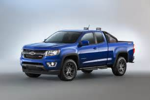 chevy presents 2016 colorado special models