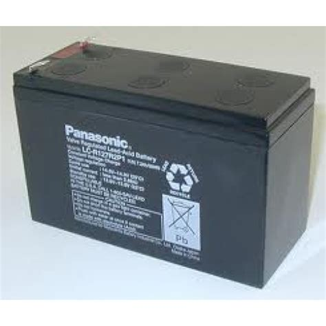 baterai ups panasonic 12 volt 7 2 a