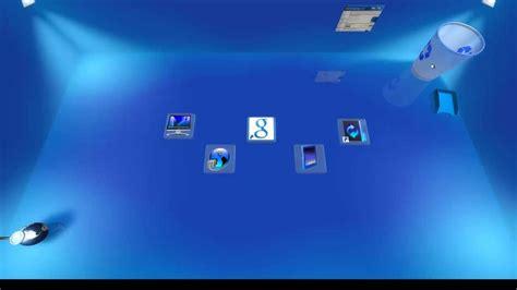 Pc Themes Windows 8 1 3d | windows 8 1 3d desktop hd youtube