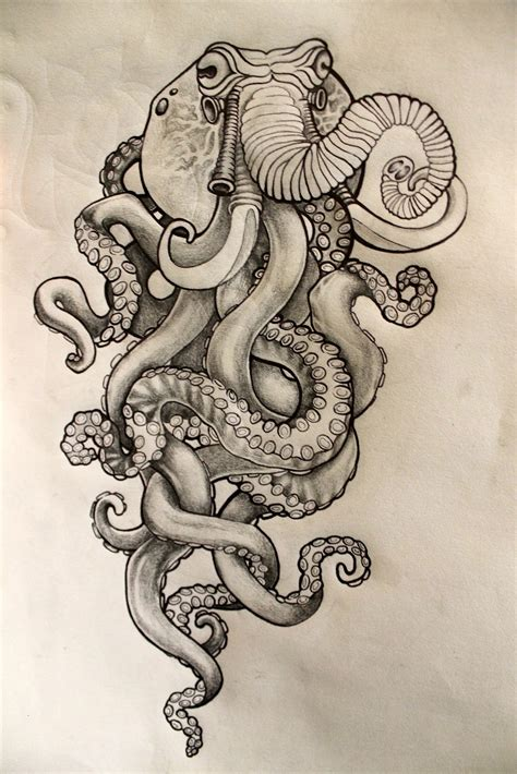 octopus design tattoo let s pretend june 2012