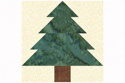 christmas tree pattern block template easy patchwork christmas tree quilt block pattern