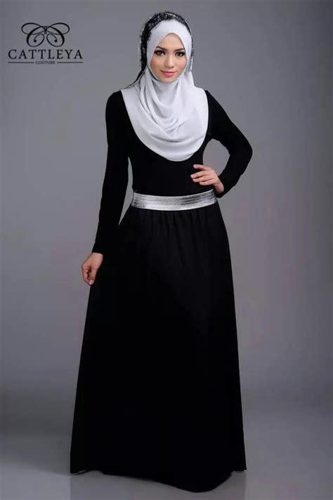 Baju Muslim Pesta Warna Hitam Trend Model Busana Muslim Remaja Untuk Pesta Masa Kini