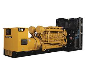 cat diesel stromaggregate caterpillar
