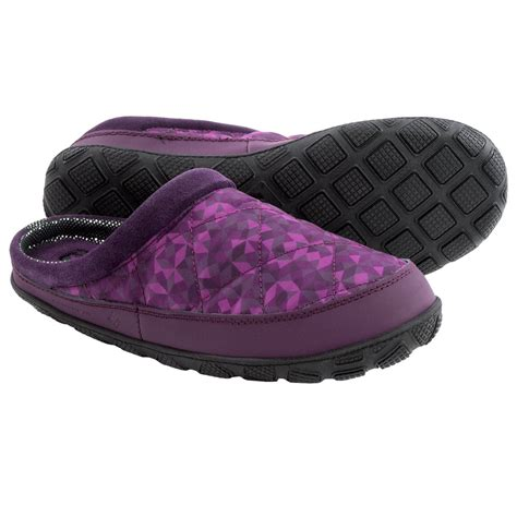 columbia womens slippers columbia sportswear packed out ii omni heat 174 slippers for