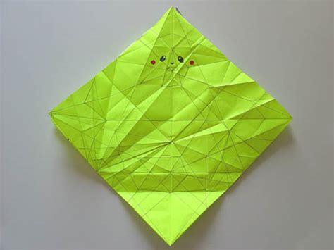 Origami Pikachu Box - pikachu origami 171 embroidery origami